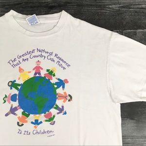 1995 Protect Earth & The Children T-shirt